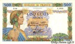 500 Francs LA PAIX FRANCE  1941 F.32.13 SUP+