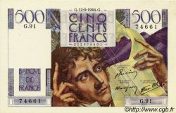 500 Francs CHATEAUBRIAND FRANCE  1946 F.34.06 SUP+
