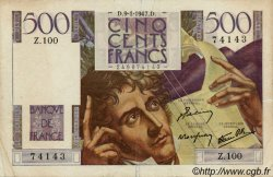 500 Francs CHATEAUBRIAND FRANCE  1947 F.34.07 TTB