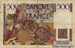 500 Francs CHATEAUBRIAND FRANCE  1948 F.34.08 B à TB
