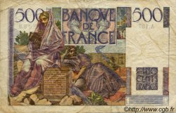 500 Francs CHATEAUBRIAND FRANCE  1953 F.34.11 TB+