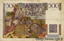 500 Francs CHATEAUBRIAND FRANCE  1953 F.34.12 TTB