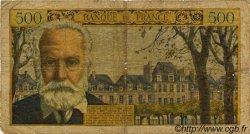 500 Francs VICTOR HUGO FRANCE  1954 F.35.02 pr.B