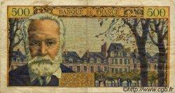 500 Francs VICTOR HUGO FRANCE  1954 F.35.02 TB+
