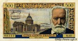500 Francs VICTOR HUGO FRANCE  1955 F.35.04 TB+