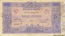 1000 Francs BLEU ET ROSE FRANCE  1895 F.36.07 pr.TB