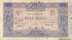 1000 Francs BLEU ET ROSE FRANCE  1920 F.36.36 B