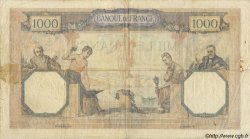 1000 Francs CÉRÈS ET MERCURE FRANCE  1927 F.37 B+