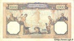 1000 Francs CÉRÈS ET MERCURE FRANCE  1928 F.37.02 TB à TTB