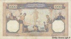 1000 Francs CÉRÈS ET MERCURE FRANCE  1929 F.37.03 TB