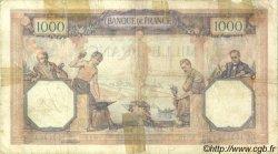 1000 Francs CÉRÈS ET MERCURE FRANCE  1929 F.37.03 B+