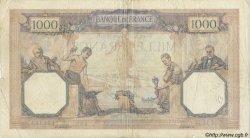 1000 Francs CÉRÈS ET MERCURE FRANCE  1931 F.37.06 pr.TB