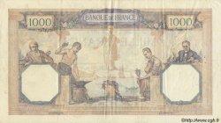 1000 Francs CÉRÈS ET MERCURE FRANCE  1932 F.37.07