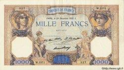 1000 Francs CÉRÈS ET MERCURE FRANCE  1932 F.37.07 TTB+ à SUP