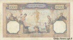 1000 Francs CÉRÈS ET MERCURE FRANCE  1933 F.37.08 TB+