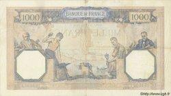 1000 Francs CÉRÈS ET MERCURE FRANCE  1933 F.37.08 pr.TTB