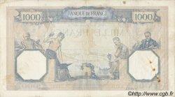 1000 Francs CÉRÈS ET MERCURE FRANCE  1937 F.37.10 pr.TTB