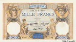 1000 Francs CÉRÈS ET MERCURE FRANCE  1937 F.37.10 TTB à SUP