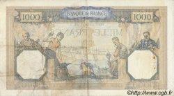 1000 Francs CÉRÈS ET MERCURE type modifié FRANCE  1938 F.38.12 TTB