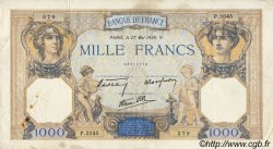 1000 Francs CÉRÈS ET MERCURE type modifié FRANCE  1938 F.38.16 TTB