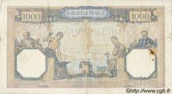 1000 Francs CÉRÈS ET MERCURE type modifié FRANCE  1938 F.38.18 TTB