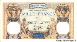 1000 Francs CÉRÈS ET MERCURE type modifié FRANCE  1938 F.38.30 pr.SUP