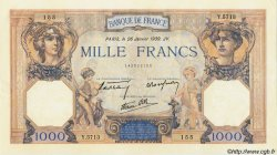 1000 Francs CÉRÈS ET MERCURE type modifié FRANCE  1939 F.38.33 pr.SPL