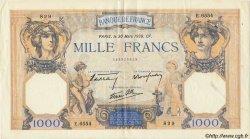 1000 Francs CÉRÈS ET MERCURE type modifié FRANCE  1939 F.38.35 TTB+ à SUP