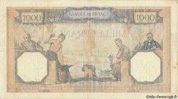 1000 Francs CÉRÈS ET MERCURE type modifié FRANCE  1939 F.38.36 pr.TTB