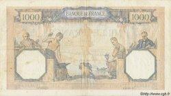 1000 Francs CÉRÈS ET MERCURE type modifié FRANCE  1939 F.38.38 TB à TTB