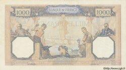 1000 Francs CÉRÈS ET MERCURE type modifié FRANCE  1939 F.38.39 pr.SUP