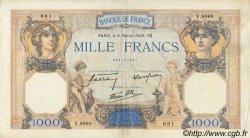 1000 Francs CÉRÈS ET MERCURE type modifié FRANCE  1940 F.38.42 TTB+