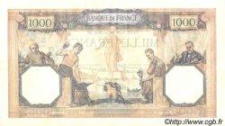 1000 Francs CÉRÈS ET MERCURE type modifié FRANCE  1940 F.38.43 TTB+ à SUP