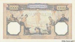 1000 Francs CÉRÈS ET MERCURE type modifié FRANCE  1940 F.38.43 SPL