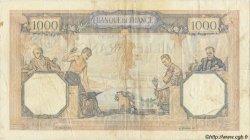 1000 Francs CÉRÈS ET MERCURE type modifié FRANCE  1940 F.38.44 TB+