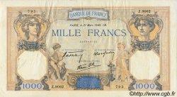 1000 Francs CÉRÈS ET MERCURE type modifié FRANCE  1940 F.38.44 TTB