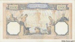 1000 Francs CÉRÈS ET MERCURE type modifié FRANCE  1940 F.38.50 TTB+