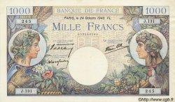 1000 Francs COMMERCE ET INDUSTRIE FRANCE  1940 F.39.01 TTB+ à SUP