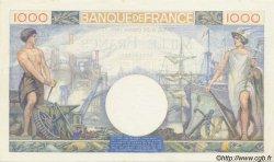 1000 Francs COMMERCE ET INDUSTRIE FRANCE  1940 F.39.01 SUP+