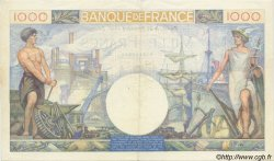 1000 Francs COMMERCE ET INDUSTRIE FRANCE  1940 F.39.02 SUP