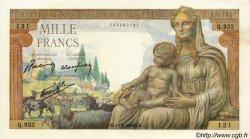 1000 Francs DÉESSE DÉMÉTER FRANCE  1942 F.40.04 pr.SPL