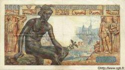 1000 Francs DÉESSE DÉMÉTER FRANCE  1942 F.40.09 TTB