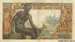 1000 Francs DÉESSE DÉMÉTER FRANCE  1942 F.40.10 B+