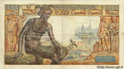 1000 Francs DÉESSE DÉMÉTER FRANCE  1942 F.40.14 TB+