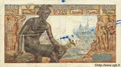1000 Francs DÉESSE DÉMÉTER FRANCE  1942 F.40.14 TB