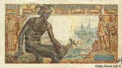 1000 Francs DÉESSE DÉMÉTER FRANCE  1943 F.40.17 TB