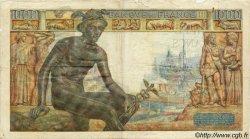 1000 Francs DÉESSE DÉMÉTER FRANCE  1943 F.40.21 pr.TB