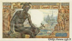 1000 Francs DÉESSE DÉMÉTER FRANCE  1943 F.40.21 pr.NEUF