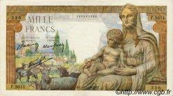 1000 Francs DÉESSE DÉMÉTER FRANCE  1943 F.40.22 SUP+ à SPL