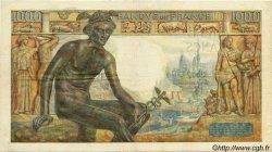 1000 Francs DÉESSE DÉMÉTER FRANCE  1943 F.40.22 TTB